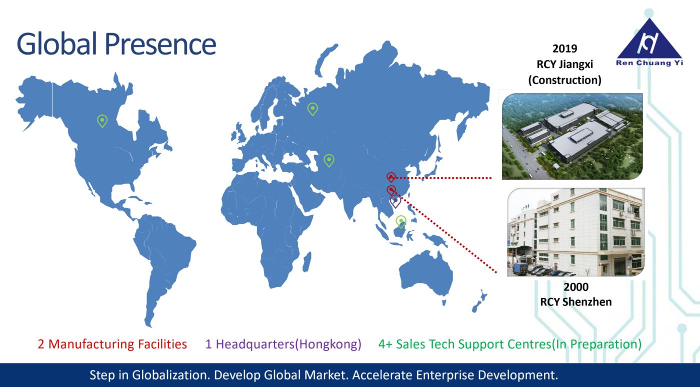 RCY Global Presence 20210505 2 1400x773 - Why choose us?