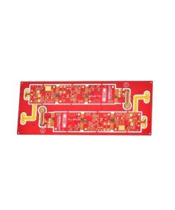 07 6L blind buried via rigid flex board 247x296 - Rigid flex PCB - 6L blind buried via rigid flex board