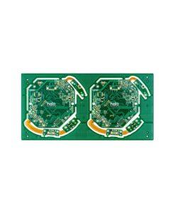 14 Medical rigid flex PCB 247x296 - 4L rigid flex board for medical helmet