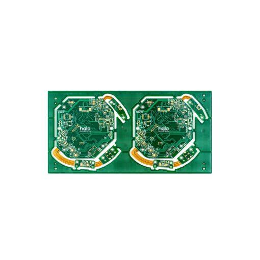 14 Medical rigid flex PCB 510x510 - 4L rigid flex board for medical helmet
