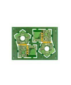17 4 layers rigid flex PCB 247x296 - Rigid flex board with high TG material lamination