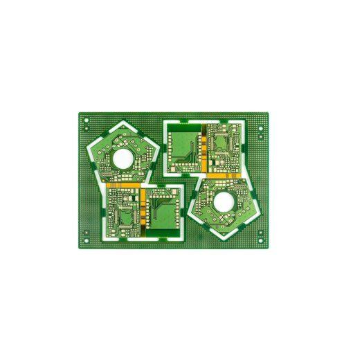 17 4 layers rigid flex PCB 510x510 - Rigid flex board with high TG material lamination