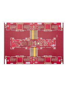 19 Multilayer rigid flex PCB 3 247x296 - Multilayer Rigid Flex PCB with High TG lamination